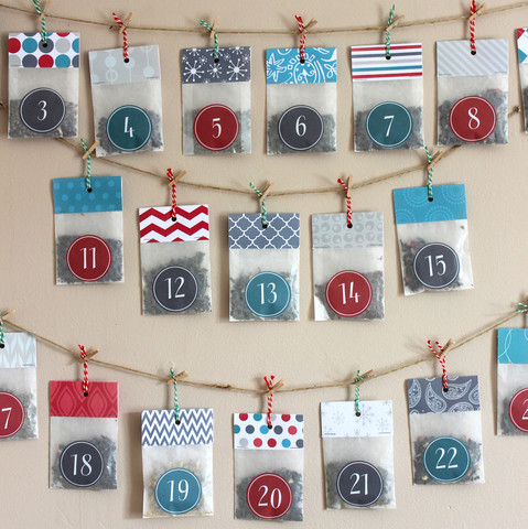 Christmas Tea Advent Calendar from PostTEA