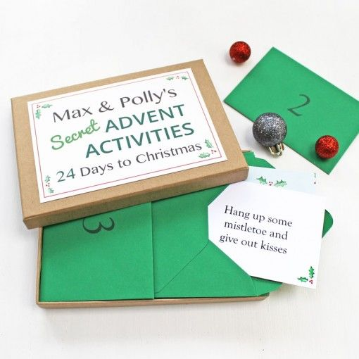 Secret Advent Activities Box from Love Give Ink