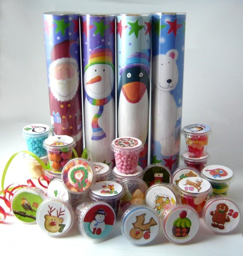 Lots of Pots of Sweets Santa Advent Calendar from Cocoapod